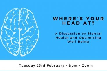 A Discussion on Mental Health & Optimising Well Being
