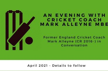 An Evening with Cricket Coach Mark Alleyne MBE