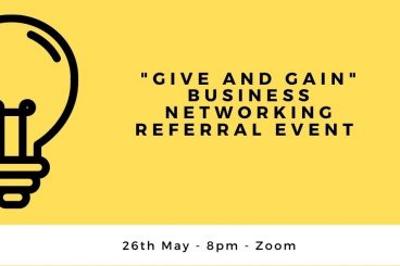 """""""Give and Gain"""" Business Networking Referral Event"""