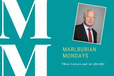 Marlburian Monday - Lord Janvrin (B1 1960-64) 'Three Careers and An Afterlife'