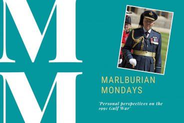 Marlburian Monday - Air Marshal Sir Ian MacFadyen KCVO CB OBE (C2 1955-60) 'Personal perspectives on the 1991 Gulf War'